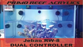 Jebao Rw-8 Dual Controller In Action!