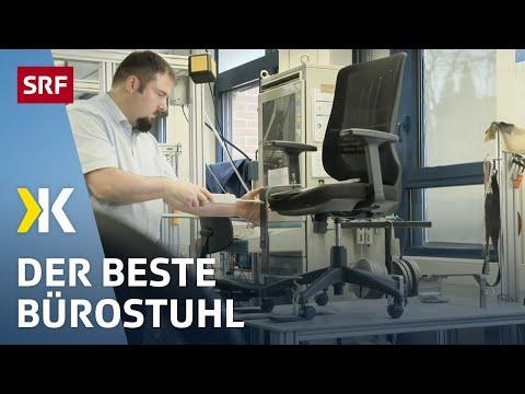 Bürostühle im Test: Der Richtige fürs | 2021 | SRF Kassensturz