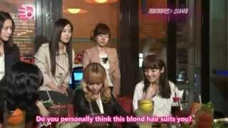 SNSD and their LOL sarcastic answer