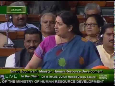 Watch Angry Smriti Irani Vs Dumb Rahul Gandhi Speech in Lok Sabha | Hatt's Off