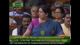 Watch Angry Smriti Irani Vs Dumb Rahul Gandhi Speech in Lok Sabha | Hatt