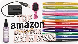 Top Amazon Buys for Back to School!