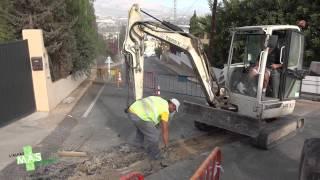 Obras de mejora en la red de agua potable en  l'Albir.