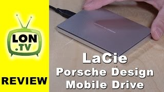 LaCie Porsche Design Mobile USB-C Hard Drive Review (2TB Model)