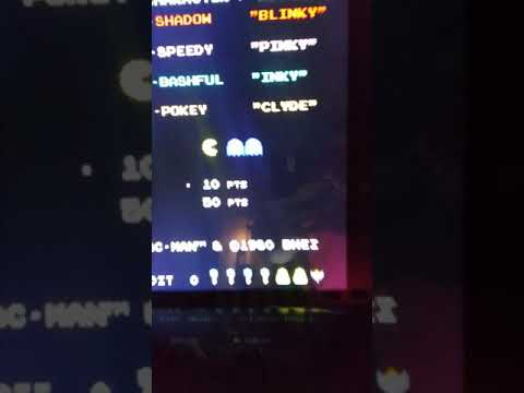 Arcade1Up Pac-Man NEW!! HIGH SCORE (2/25/21) from TboneNY10