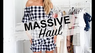 MASSIVE HIGH STREET HAUL | TRY ON | SABO SKIRT, NEW LOOK, ASOS, ETC | SINEAD CROWE