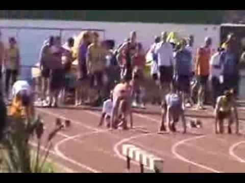 100 m llanos Worl Transplant Games Durban
