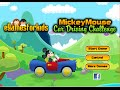 Driving Mickey Mouse Car Games