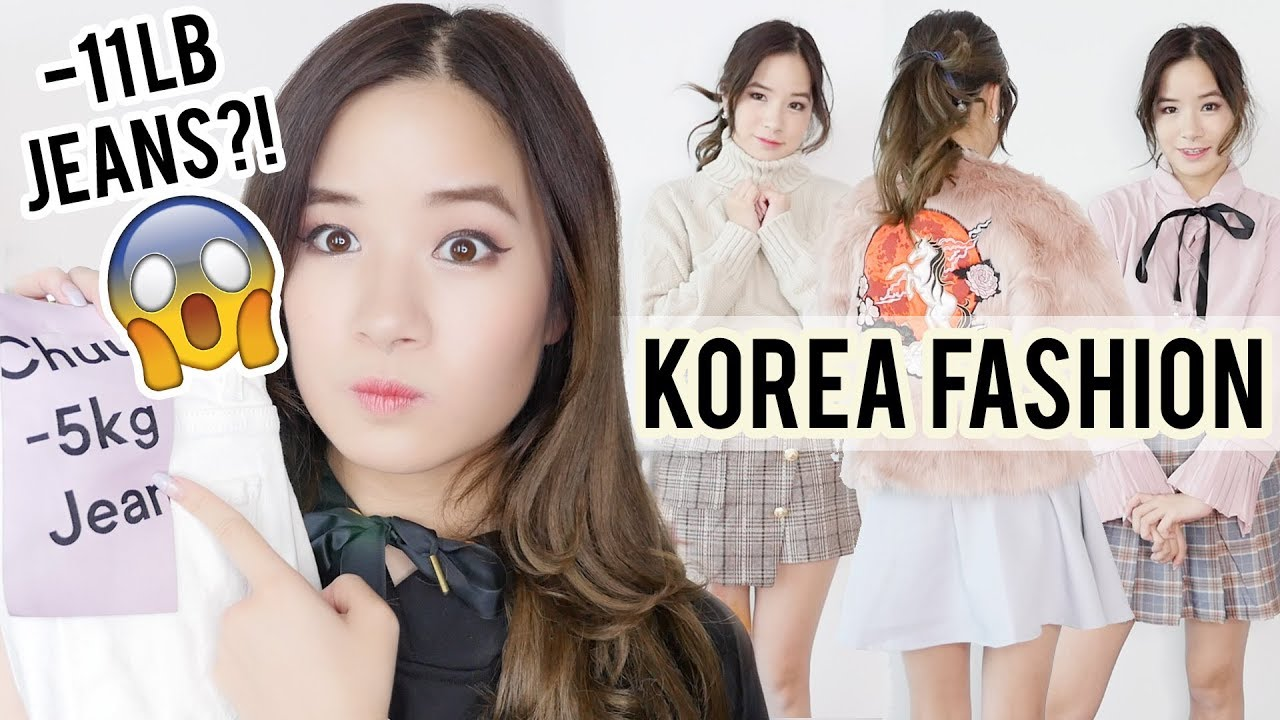 HUGE Korean Fashion Haul | What I bought in KOREA?? Gangnam & YesStyle