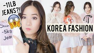 HUGE Korean Fashion Haul   What I bought in KOREA?? Gangnam & YesStyle