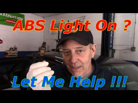 Diagnose & Repair An ABS Code C1175 & C1236 On A 1999 Ford Crown victoria