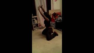 Dancing to ciara (body party) kayla jones