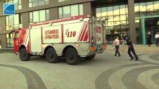 İstanbul 29 Mayıs Üniversitesi Ümraniye Yerleşkesi 2016 Yangın Tatbikatı