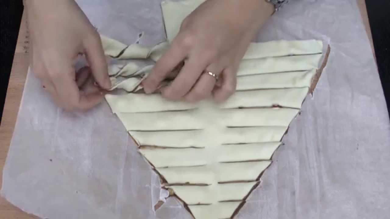 Sapin En Pâte Feuilletée