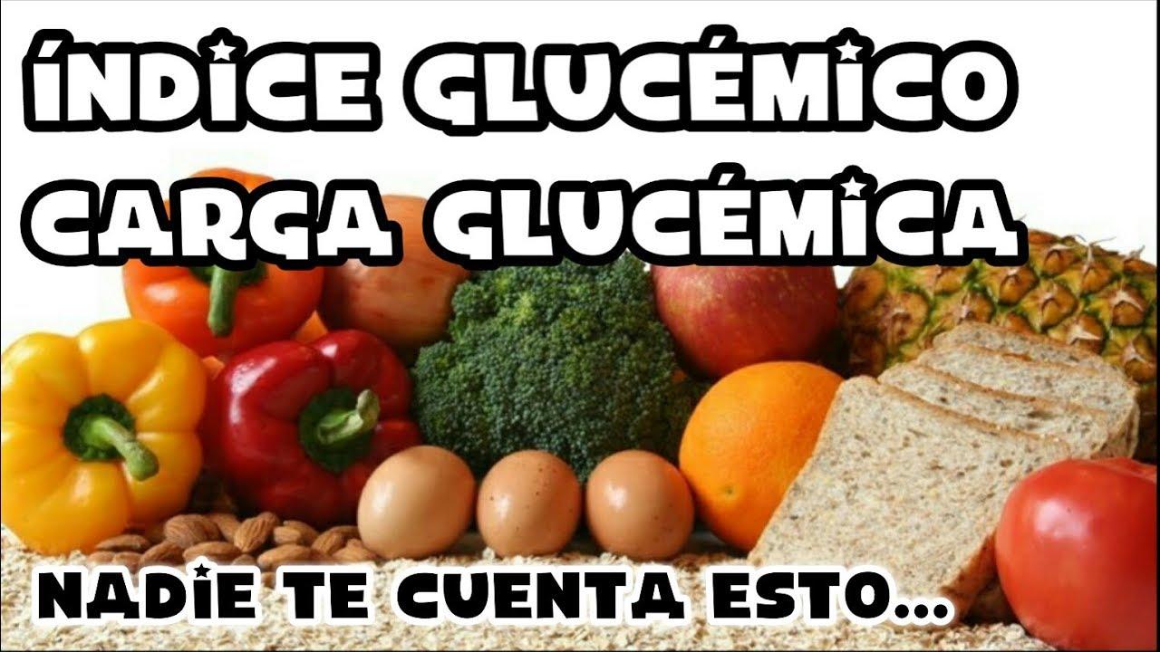 Indice carga de alimentos glucemico e los