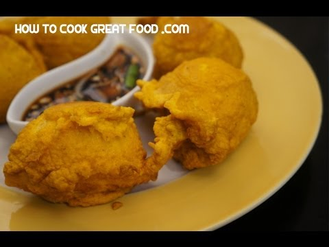 Paano magluto Tokneneng Pinoy Street Food Recipe - Fried hard boiled eggs Filipino cooking