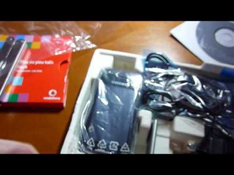 Samsung GT-S5560 Unboxing