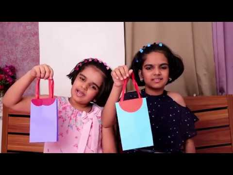 DIY Paper Bag | Craft Ideas for Kids | How to make Paper Bag | Easy Paper Bag for Kids | Easy Crafts