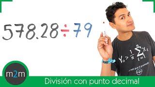 División de números con punto decimal. Dividing Decimals