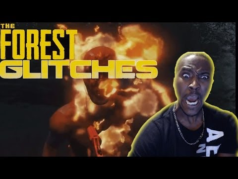 TWITCH HIGHLIGHTS |THE FOREST GAMEPLAY | GLITCHES! GLITCHES! GLITCHES! | HILARIOUS!!!!!