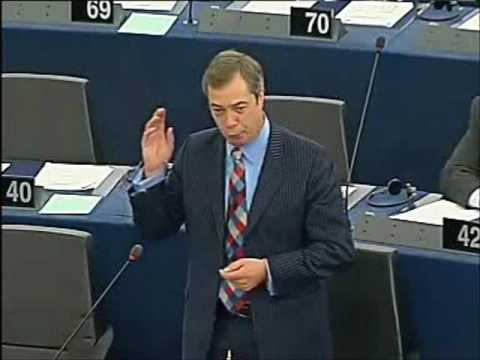 Farage: Give us EU Emperor Tony Blair