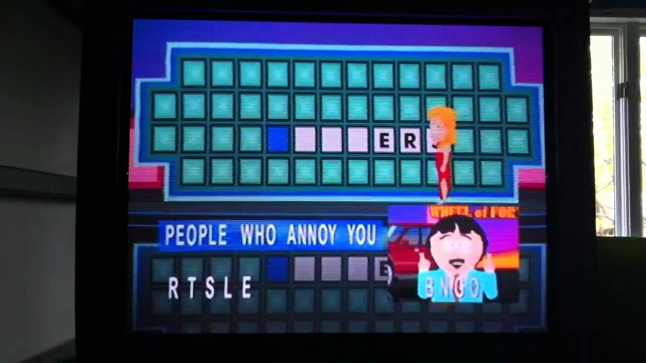 wheel of fortune people who annoy you queue