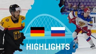 Germany - Russia | Highlights | #IIHFWorlds 2017
