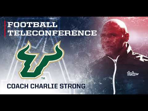 2018 American Football Teleconference Week 11 - USF Head Coach Charlie Strong