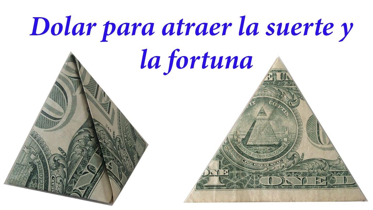 D lar para la buena suerte como doblar un dolar para la - Ritual para tener buena suerte ...