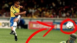 הבעיטות הכי חזקות בכדורגל!!! *210 קמ''ש*