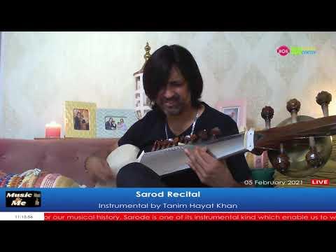 Sarode Recital (Instrumental) by Tanim Hayat Khan LIVE