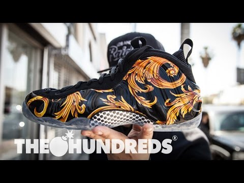 SUPREME X NIKE FOAMPOSITE :: LOS ANGELES RELEASE :: THE HUNDREDS