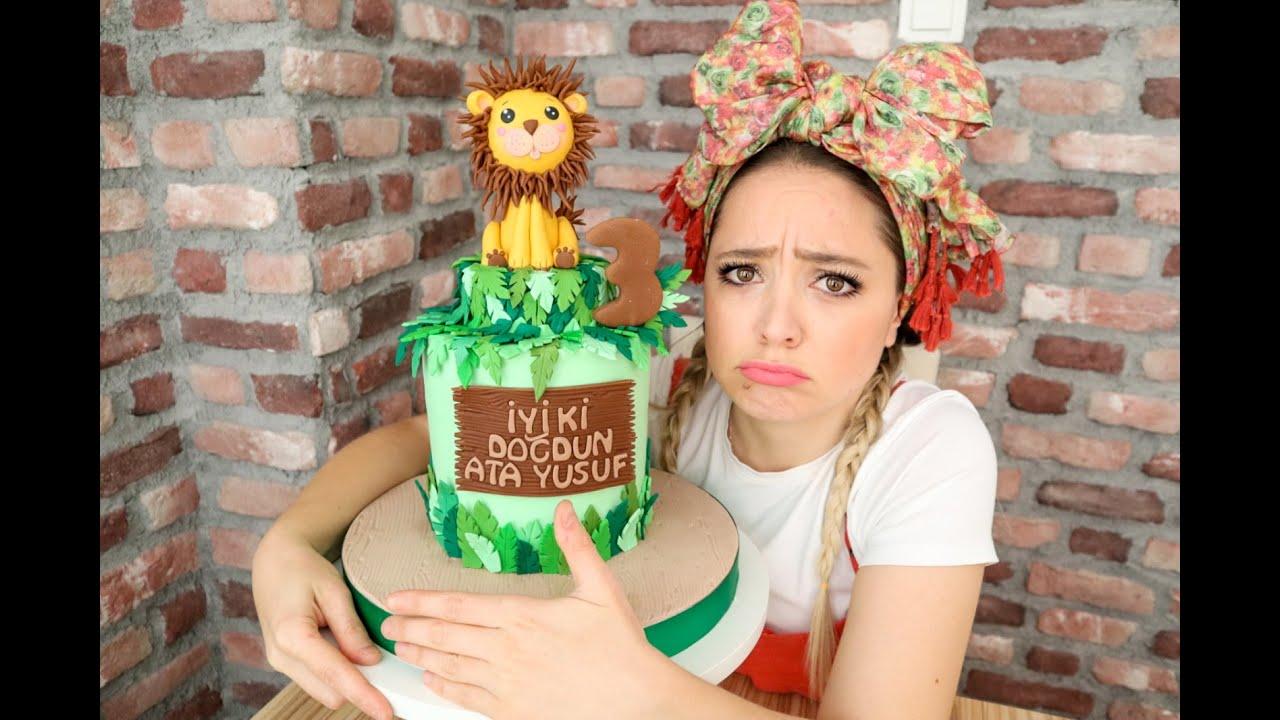 Aslan Figürlü Pasta Yapımı (Lion Cake)