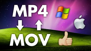 How to Convert MP4 Files to MOV (and vice versa) for FREE