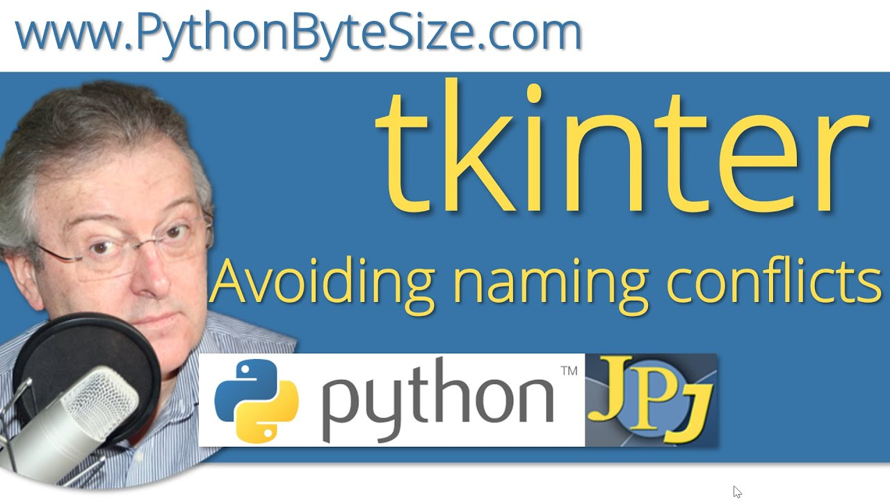 Avoiding tkinter naming conflicts