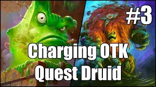 [Hearthstone] Charging OTK Quest Druid (Part 3)