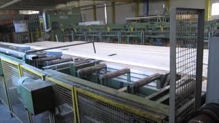 Линия производства строительного бруса SMB 2007 Line