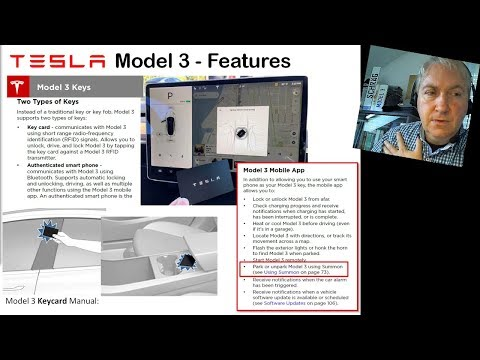 Summon beim Tesla Model 3 (NEWS der KW39/2017)