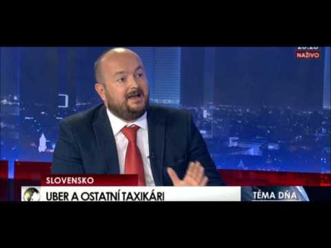 26 04 2017 Bratislava Uber a ostatní taxikáři