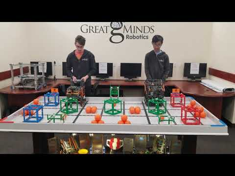 Team GMR (10700B) Scores 170 Pts In Squared Away!