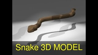 3D Model of Snake Review