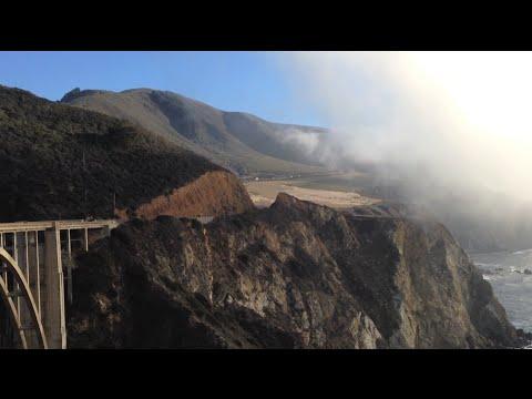 California Highway 1 Scenic Road Big Sur: Monterey to Morro Bay