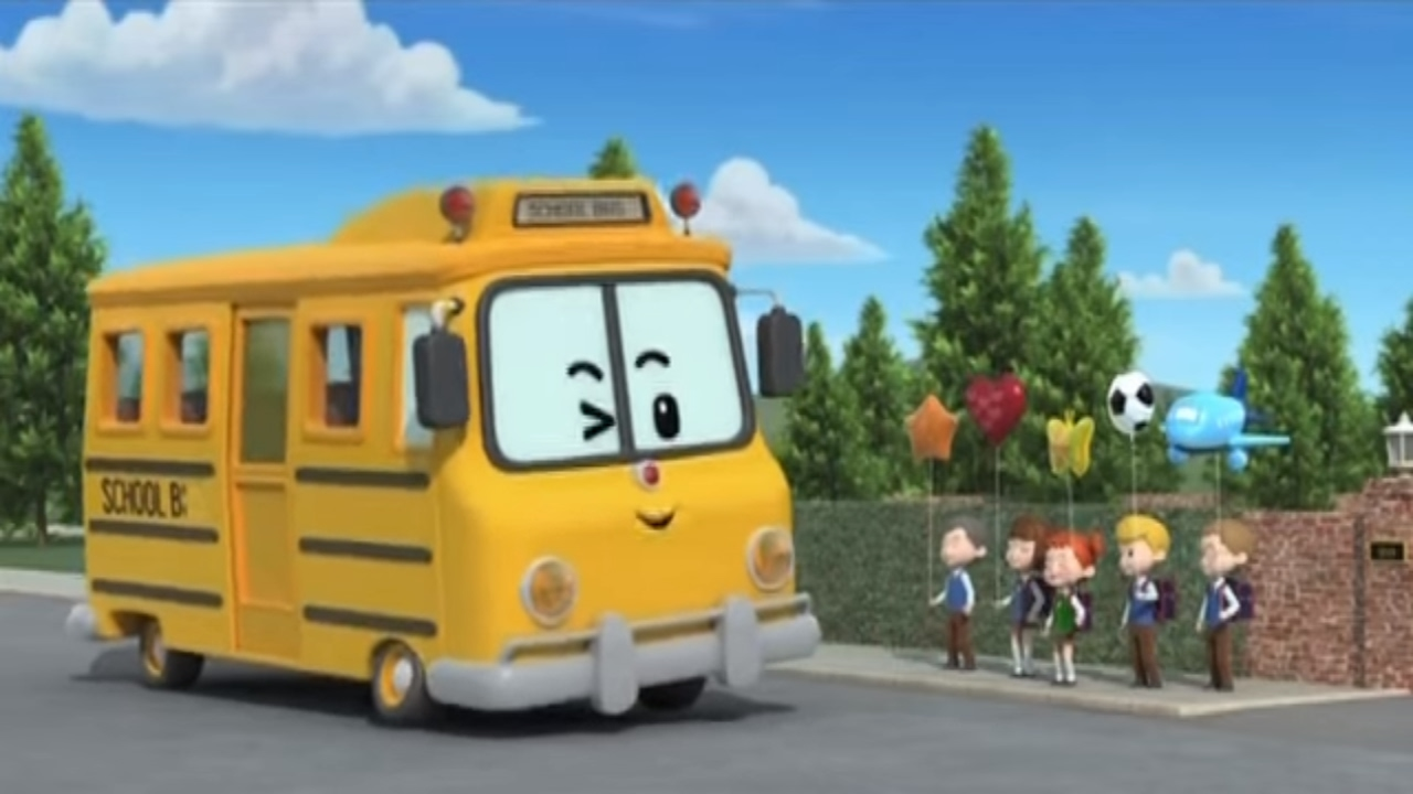 Робокар Поли - Приключение друзей - Скулби и его сюрприз (мультфильм 2) Познавательные мультфильмы