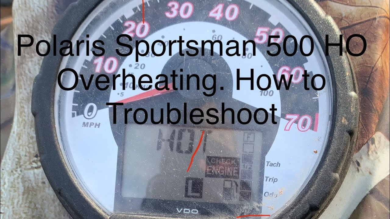Polaris Sportsman Overheating How To Troubleshoot Electrical Cooling System Youtube