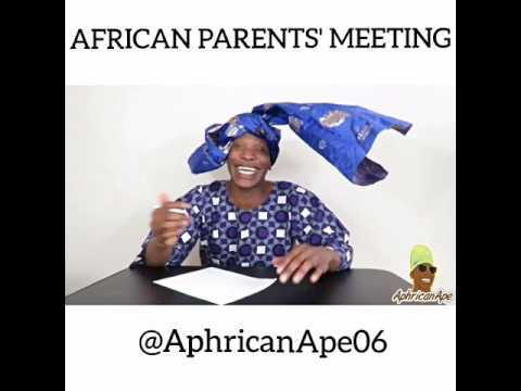 African parents' meeting