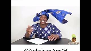 African Parents' Meeting - Aphricanace Comedy