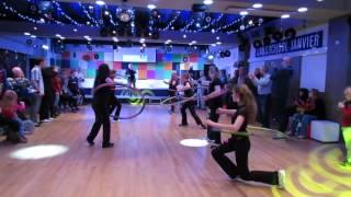 George Baker & Petra's Hulahoop DANCE team