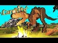 Attack of the Cardboard DINOSAURS! - Card Life Gameplay