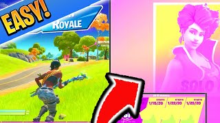 How To WIN Fortnite CASH CUPS! How to Win Competitive Fortnite EASILY! (Fortnite XBOX/PS4 Tips)