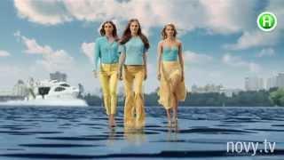 Мировые топ-модели прошлись по воде для Нового канала - Супермодель по-украински - Анонс